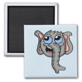 Cartoon Elephant Head magnet