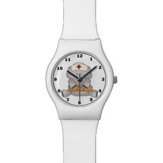 Cartoon Elephant Nurse wrist watch