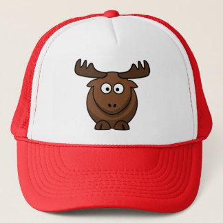 Cartoon Elk Reindeer Cap