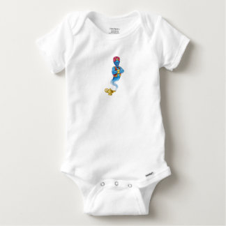 Cartoon Evil Aladdin Genie Baby Onesie