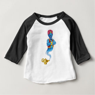 Cartoon Evil Aladdin Genie Baby T-Shirt