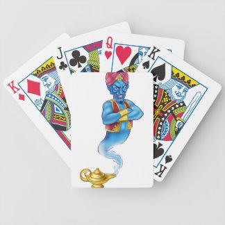 Cartoon Evil Aladdin Genie Poker Deck