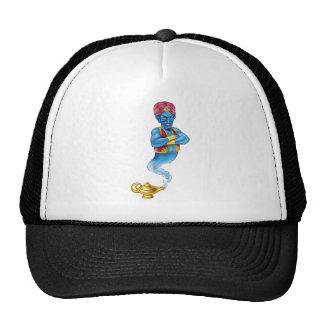 Cartoon Evil Aladdin Genie Trucker Hat