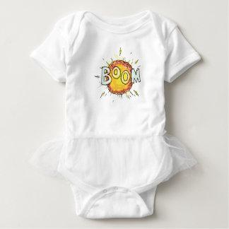 Cartoon Explosion Boom Baby Bodysuit