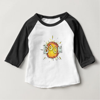 Cartoon Explosion Boom Baby T-Shirt