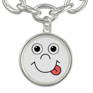 Cartoon face bracelets