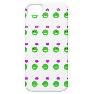 Cartoon faces case for the iPhone 5
