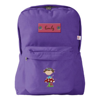 Cartoon Fairy Personalized Backpack