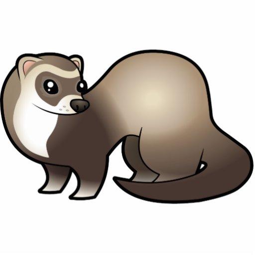 Cartoon Ferret Cut Outs Zazzle