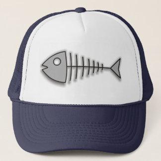 Cartoon Fish Bones Funny Fisherman Hat