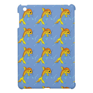 cartoon fish i-pad mini case case for the iPad mini