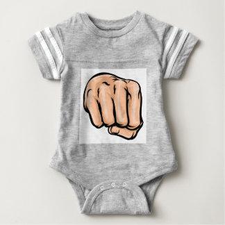 Cartoon Fist Baby Bodysuit