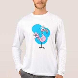 Cartoon Flamingo T-Shirt