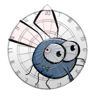 Cartoon Fly Dartboard