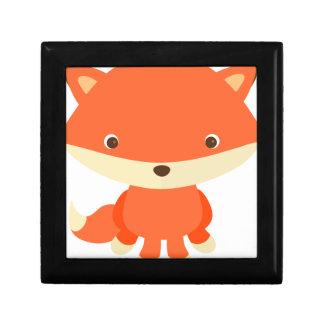 Cartoon Fox Gift Box