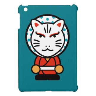 cartoon fox god illustration iPad mini case