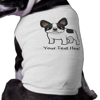 Cartoon French Bulldog Pet Tshirt
