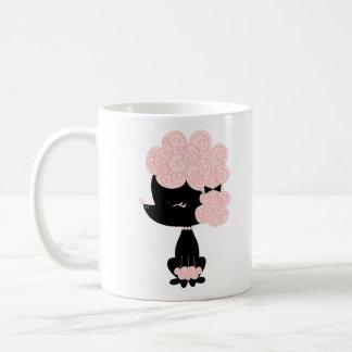 Cartoon French Poodle Coffee Mug