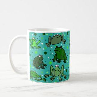 Cartoon Frog Mug