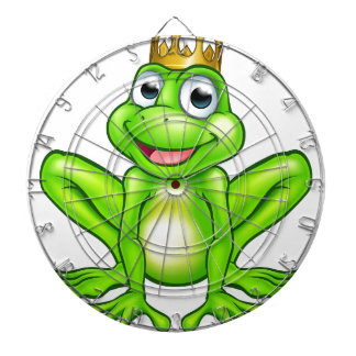 Cartoon Frog Prince Dartboard