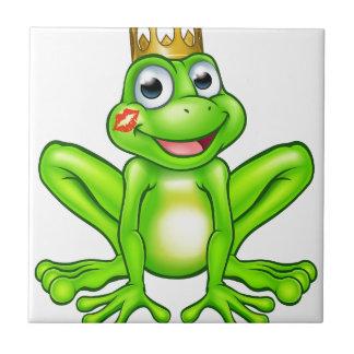 Cartoon Frog Prince Kiss Ceramic Tiles