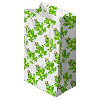 Cartoon Frog Prince Small Gift Bag