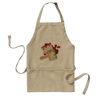 Cartoon Fun adult Painting apron