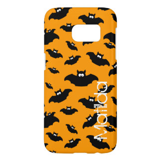 cartoon funny bat with name samsung galaxy s7 case