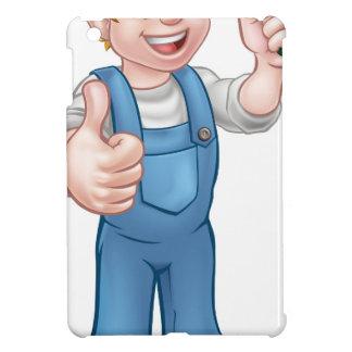 Cartoon Gardener iPad Mini Case