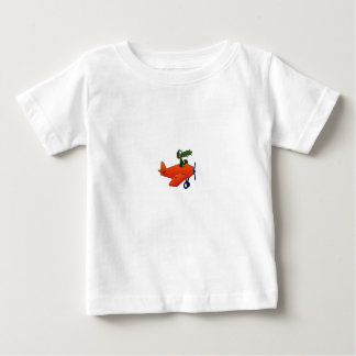 Cartoon Gator Plane Infant T-Shirt