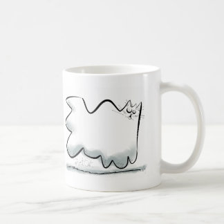 Cartoon Ghost cat Mug
