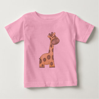 Cartoon Giraffe Baby T-Shirt