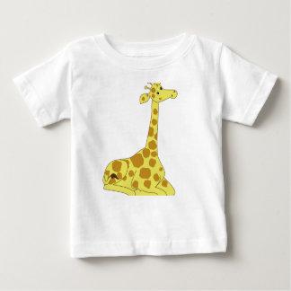 Cartoon Giraffe Baby T-Shirt