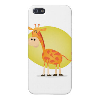 Cartoon Giraffe Cover For iPhone 5/5S