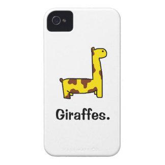 Cartoon Giraffe iPhone Case