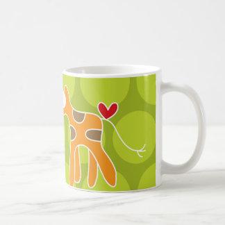 Cartoon Giraffe Kid Cute Fun Custom Gift Mug