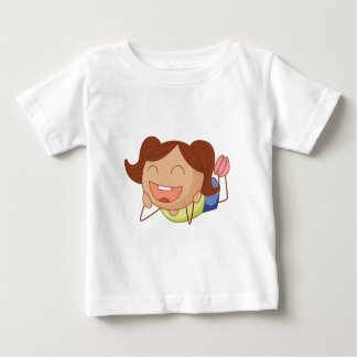 Cartoon girl baby T-Shirt