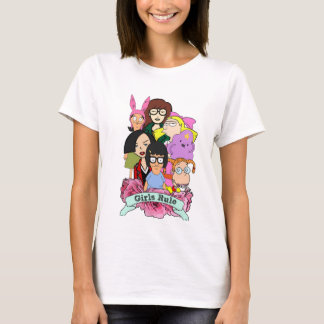 Cartoon Girls Rule Shirt
