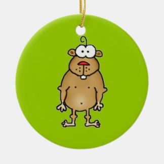 Cartoon Gopher Ornament