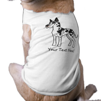 Cartoon Great Dane Pet Tshirt