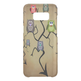 Cartoon Great Horned Owls Uncommon Samsung Galaxy S8 Case