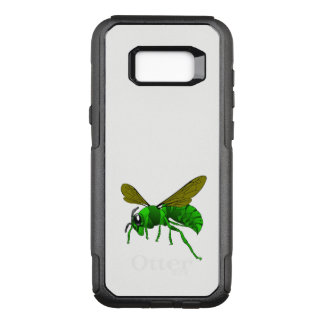 Cartoon green and lime hornet wasp bee OtterBox commuter samsung galaxy s8+ case
