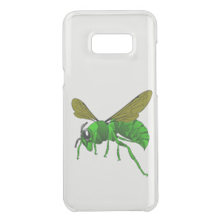 Cartoon green and lime hornet wasp bee uncommon samsung galaxy s8 plus case