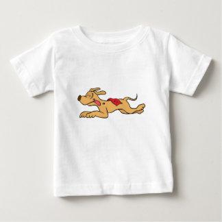 Cartoon greyhound dog racing baby T-Shirt