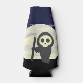 Cartoon Grim Reaper / Death Character Bottle Cooler