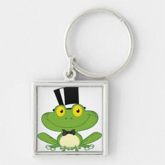 Cartoon Groom Frog Character Keychain