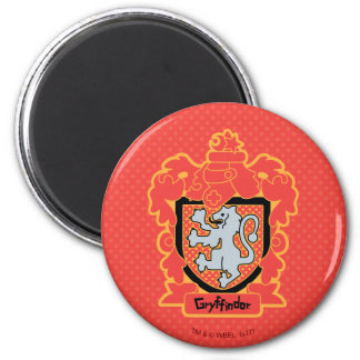Cartoon Gryffindor Crest Magnet