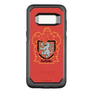 Cartoon Gryffindor Crest OtterBox Commuter Samsung Galaxy S8 Case