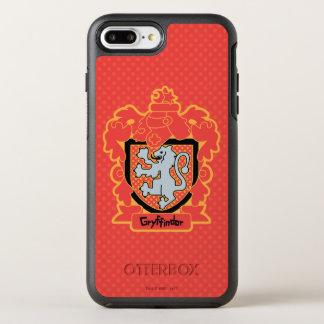 Cartoon Gryffindor Crest OtterBox Symmetry iPhone 8 Plus/7 Plus Case