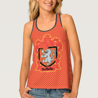 Cartoon Gryffindor Crest Tank Top